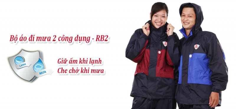 Bộ áo mưa 2 công dụng RB2 RANDO