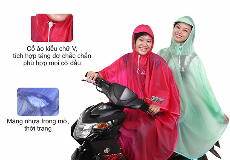 áo mưa cánh bướm trong màu RANDO