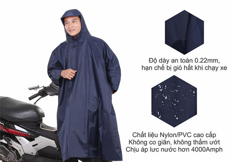 áo mưa cao cấp  poncho vải best RANDO