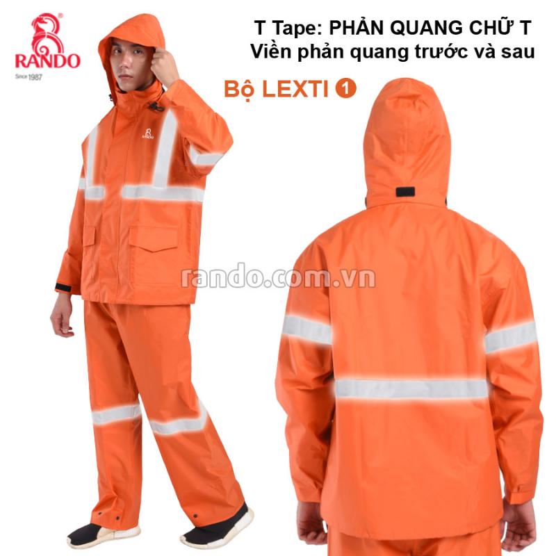 Bộ áo mưa Lexti 1 - T Tape RANDO
