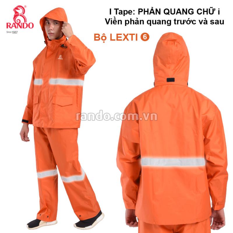 Bộ áo mưa Lexti 6-i Tape RANDO