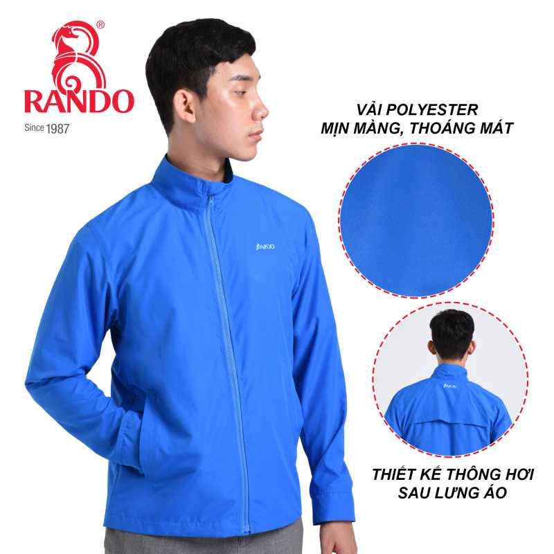 Thông gió sau lưng áo gió cao cấp nam AVADO - RANDO