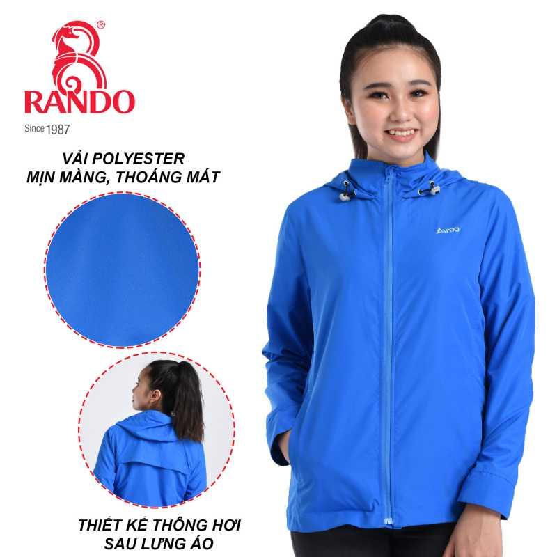 Thông gió sau lưng áo gió cao cấp nữ AVADO - RANDO