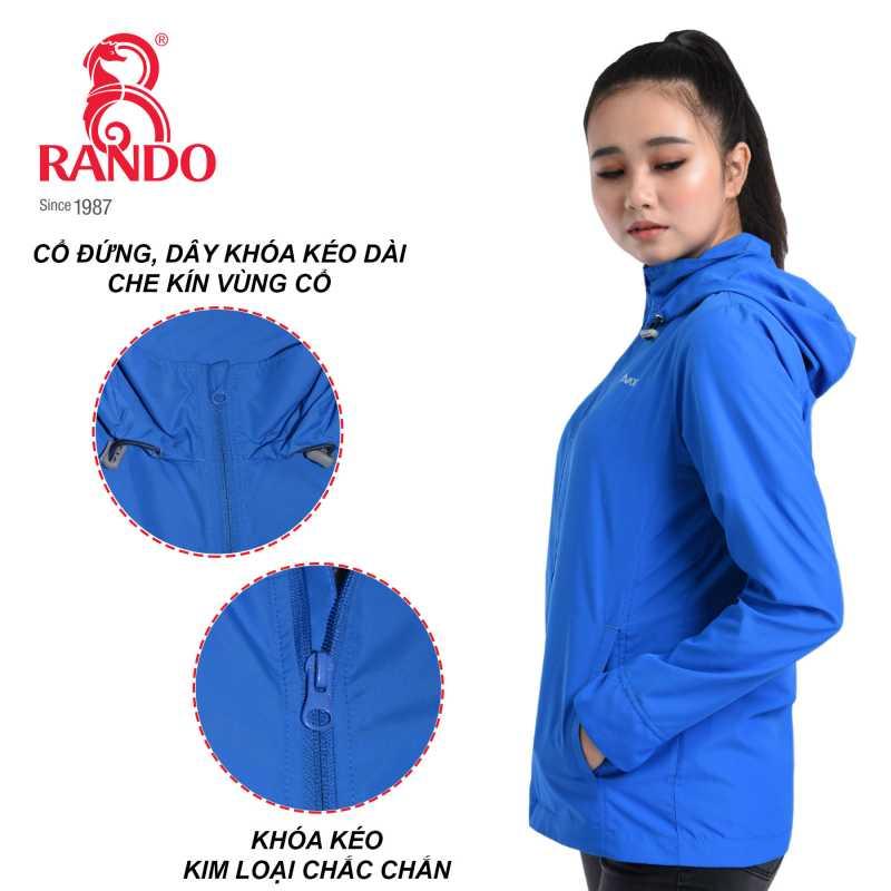 Dây kéo áo gió cao cấp nữ AVADO - RANDO