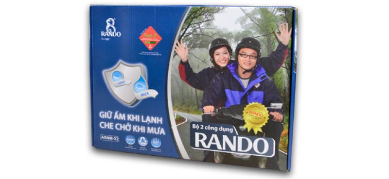 hộp đựng áo mưa bộ RB2 RANDO