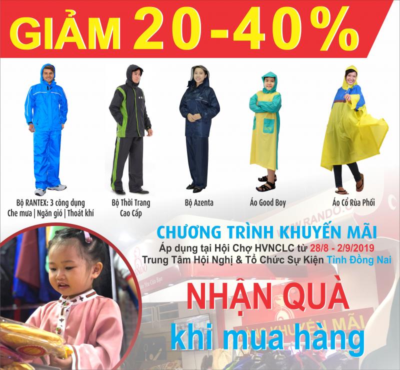 Giảm giá lên đến 40% tại hội chợ HVNCLC 2019 tỉnh Đồng Nai