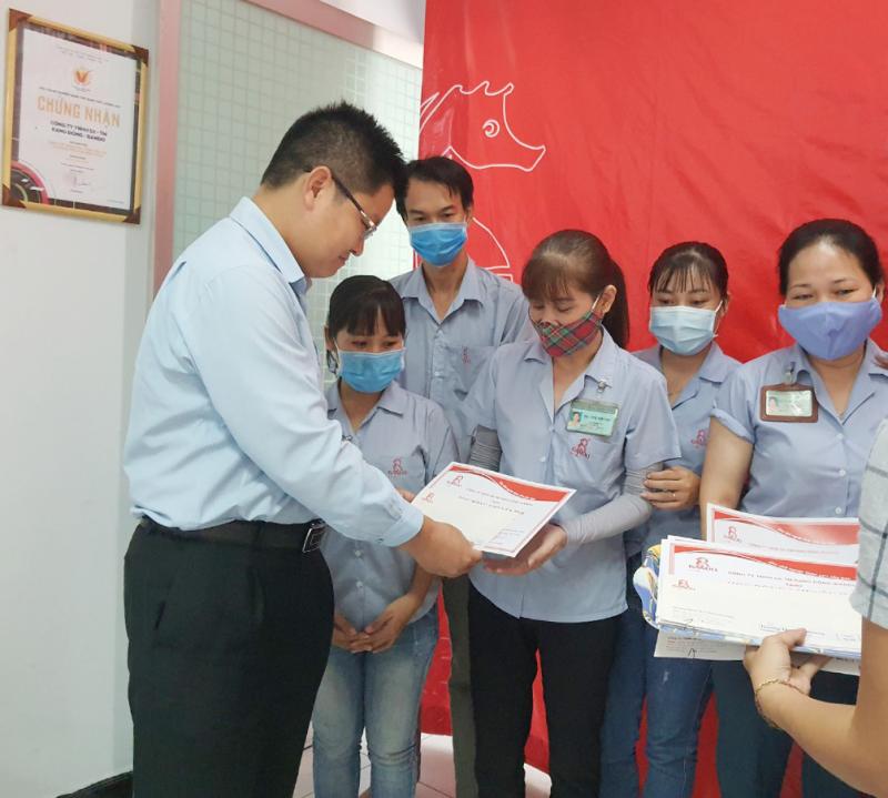 Ông Lê Kim Tú – GĐ Điều Hành công ty RANDO