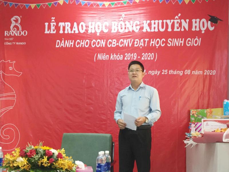 Ông Lê Kim Tú – GĐ Điều Hành