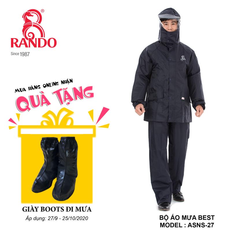 Mua bộ áo mưa BEST RANDO tặng GIÀY BOOTS đi mưa