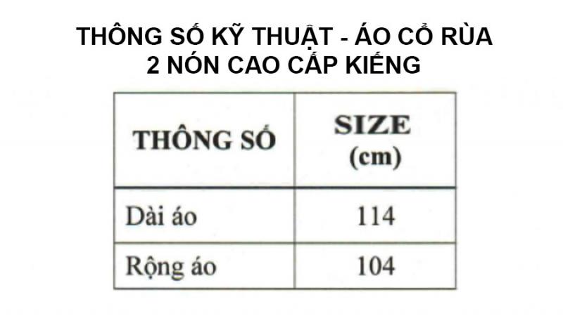 thông số kỹ thuật áo mưa 2 nón cao cấp kiếng