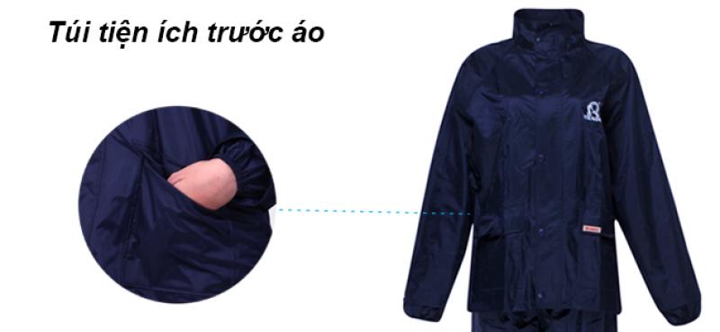 túi tiện ích trước bộ áo mưa A+ RANDO