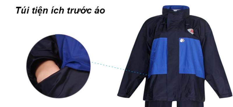 túi tiện ích trước Bộ áo mưa 2 công dụng RB2 RANDO