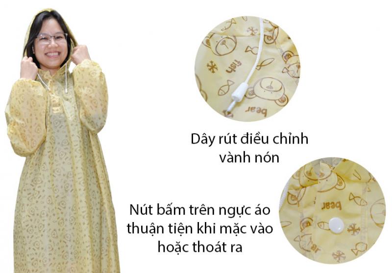 Ưu điểm trên áo mưa EVA - RANDO