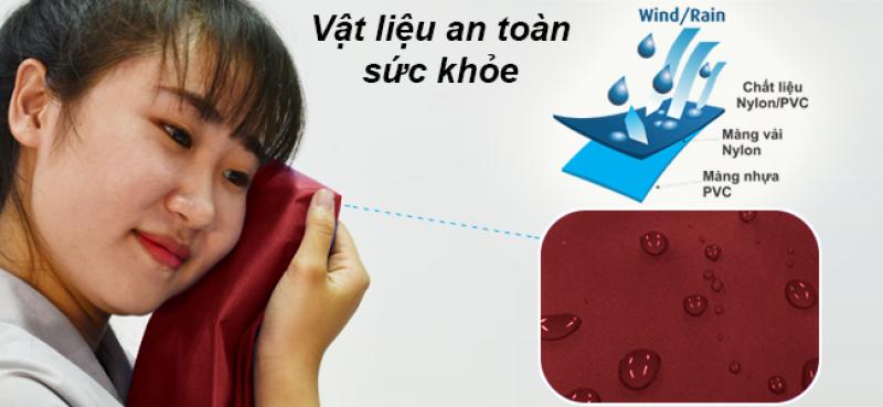 vật liệu sản xuất áo mưa an toàn sức khỏe RANDO