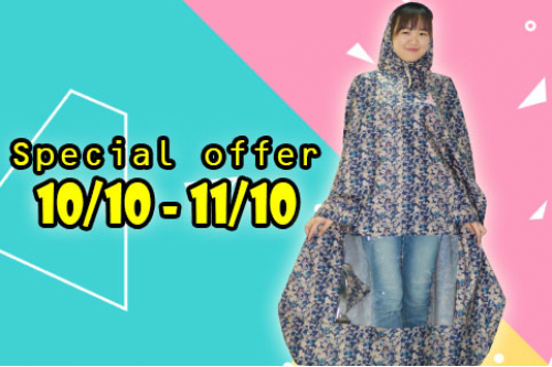 Khuyến mãi Special Offer 10/10 - 10/11