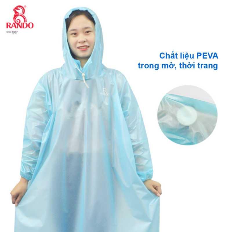 Áo mưa Easy Trum sử dụng chất liệu PEVA