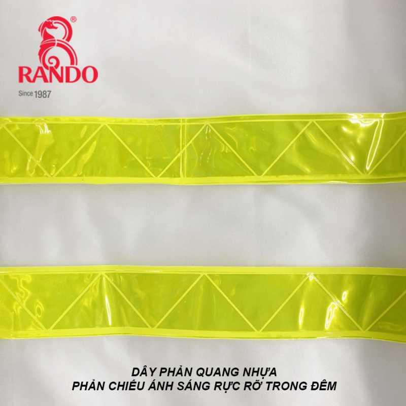 Viền phản quang - Bộ áo mưa Trong Màu Phản Quang