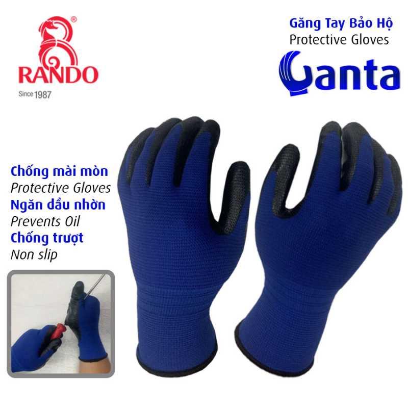 Găng Tay Bảo Hộ Ganta dùng trong xây dựng, ngành công nghiệp ô tô, cơ khí lắp ráp, bảo trì bảo dưỡng