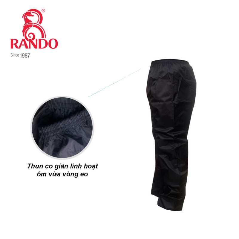Thun lưng quần đi mưa co giãn linh hoạt