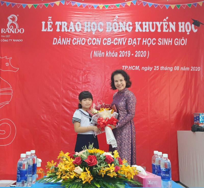 Bà Đoàn Thị Phượng - Phó chủ tịch HĐTV