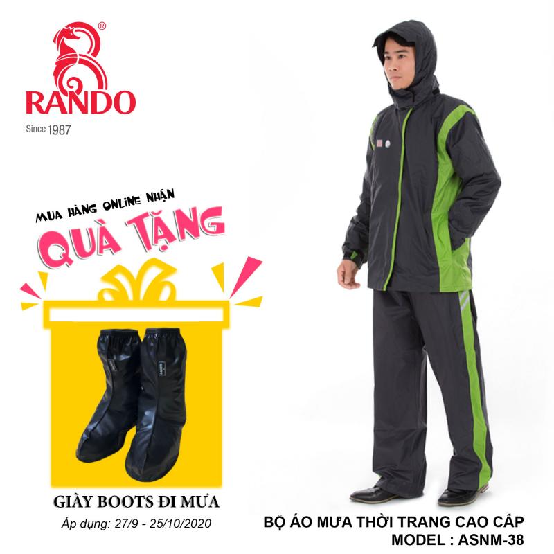 Mua bộ áo mưa TTCC RANDO tặng GIÀY BOOTS đi mưa