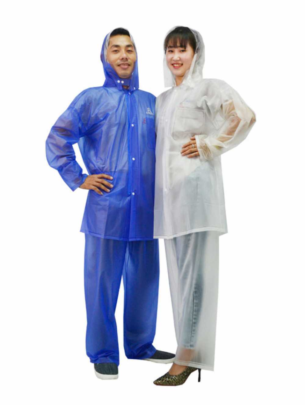 ÁO MƯA BỘ RANDO Bộ áo mưa Trong Màu