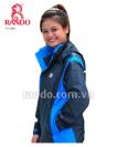 Hình Bộ áo mưa Thời Trang Cao Cấp  Màu sắc Xanh dương Size người lớn 2XL 0