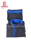 Hình Bộ áo mưa Thời Trang Cao Cấp  Màu sắc Xanh dương Size người lớn 2XL 2