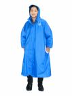 Hình Áo mưa BISUR Dây Kéo Màu sắc Xanh dương Size người lớn 2XL