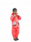 Hình Áo Mưa Trẻ Em - Bộ Ong Mật Màu sắc Xanh dương Size trẻ em 5