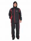 Hình Bộ áo mưa Thời Trang Cao Cấp  Màu sắc Đỏ Size người lớn 2XL